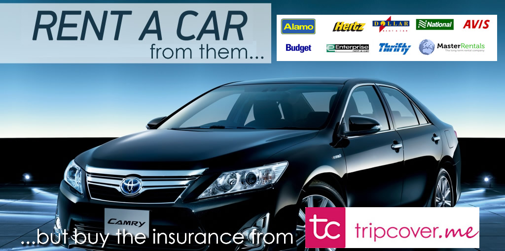 Car hire excess insurance cover australia 10